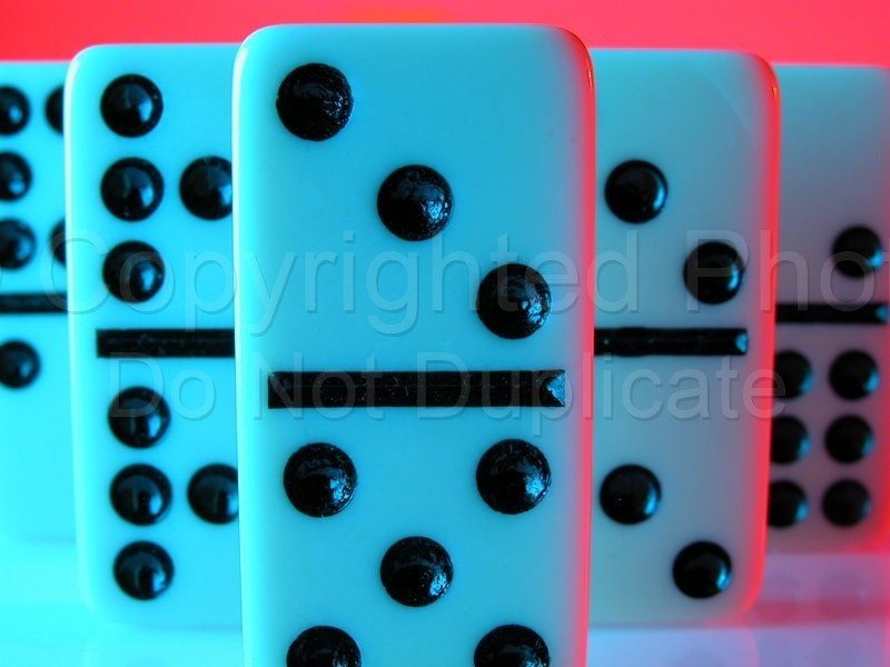 Stock Shots - Tom Warner Photography domino, game, politics, pastime, move, movement, groups, force, collective, numbers