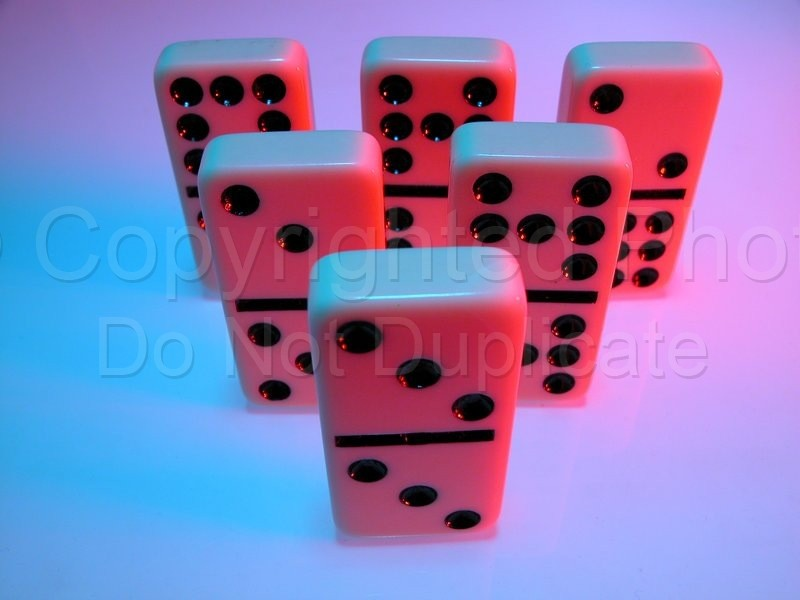 Stock Shots - Tom Warner Photography dominos, game, pastime, standing, stand, group, force, politics, world