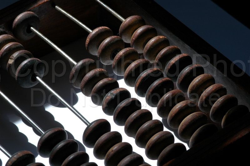 Stock Shots - Tom Warner Photography counting, accounting, abacus, asian, antique, wooden, old school, calculate, calculator, numbers, track, finance, stocks, investments, invest, track